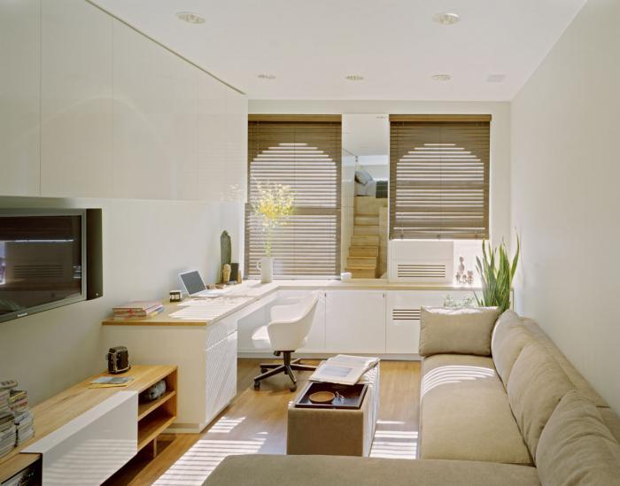 Apartament ingust si lung sfaturi mobilare