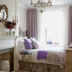 Candelabru cu cristale si becuri lumanare pentru dormitor clasic