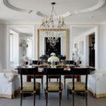 Dining elegant cu candelabru clasic