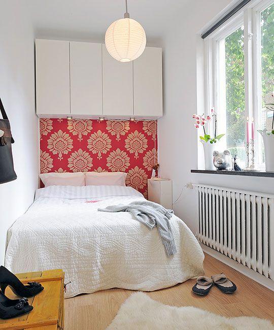 Idee pentru amenajarea unui dormitor in balconul apartamentului