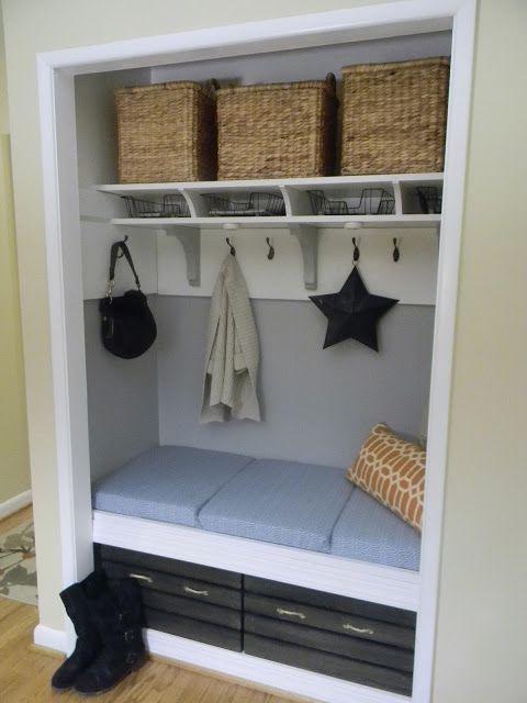 Idee pentru realizarea unui dulap chiar la intrare