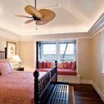 Lustra cu ventilator pentru dormitor