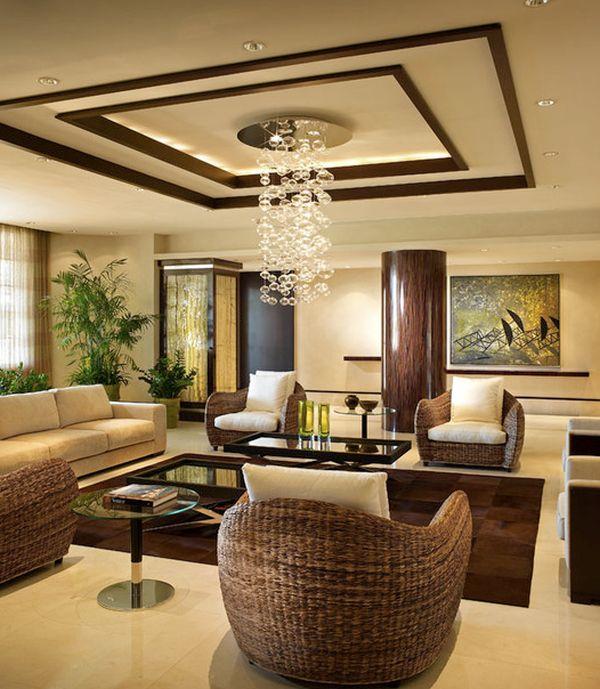 Lustra moderna curgatoare pentru decor modern