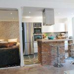 Open space cu bucatarie, living si dormitor