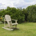 lemn antichizat de culoare alb-gri pentru balansoar