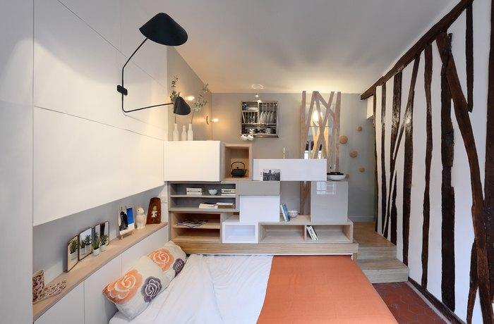 Apartament de 12 metri patrati