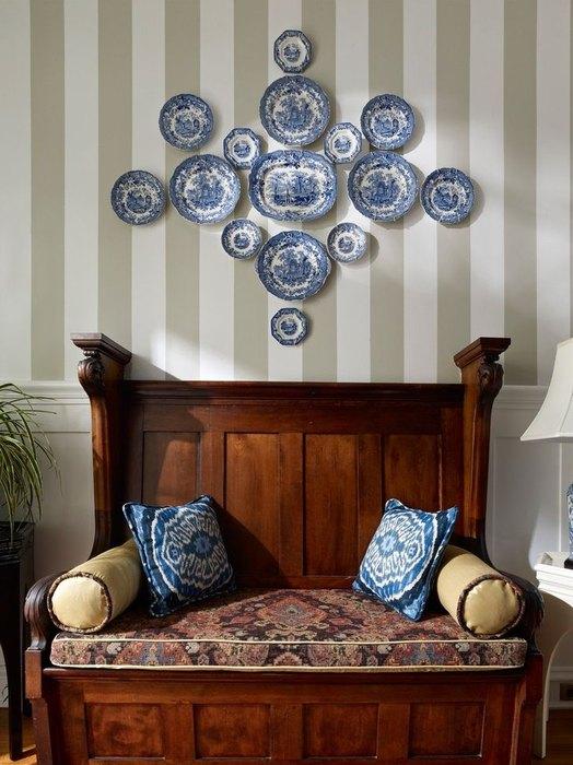 Decor cu farfurii decorative pe pereti