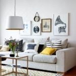Piese de decor vintage in living