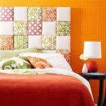 Tablie de pat stilata patchwork
