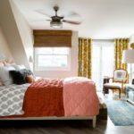 Dormitor amenajat in stil cottage
