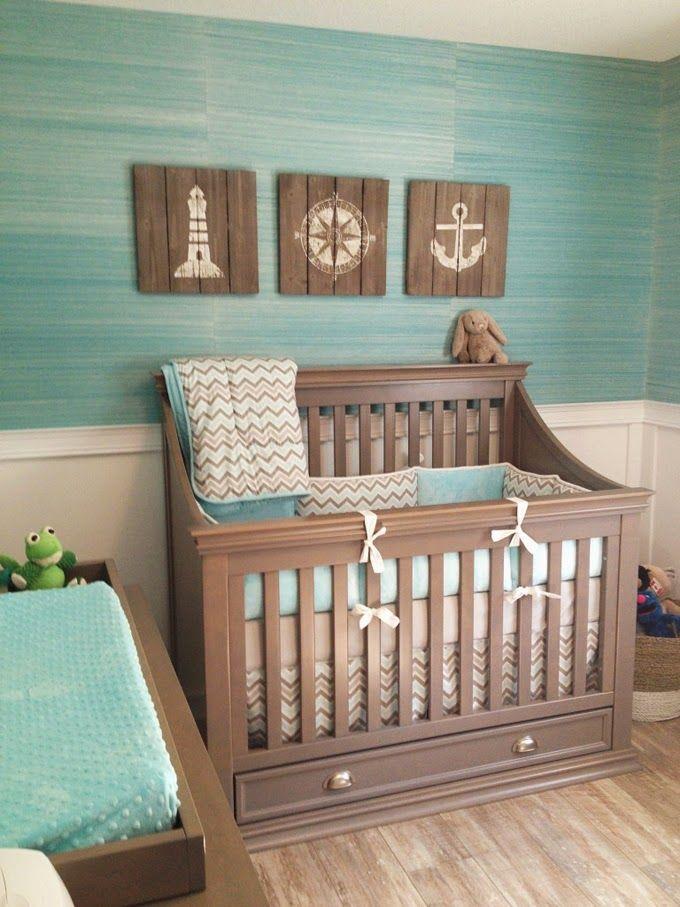 camera albastra cu tematica marinareasca