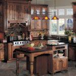 stilul rustic cu mobilier exclusiv din lemn masiv