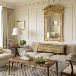 Amenajare in culori neutre a unui living in stil clasic