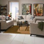 Culori neutre si de pamant pentru amenajare living