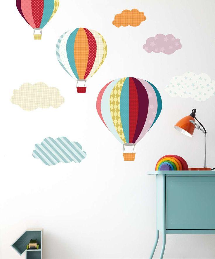 Stickere baloane cu aer colorate