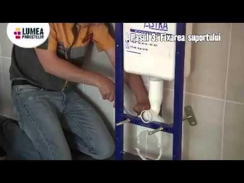 montaj chiuveta si vas WC
