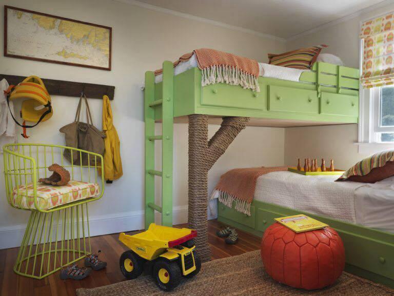pat etajat pentru camera copilului