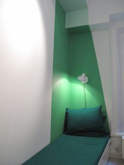 model dormitor mic