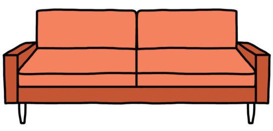 model canapea moderna