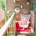 veranda decorata in stil modern