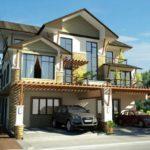 Casa cu parter etaj si mansarda