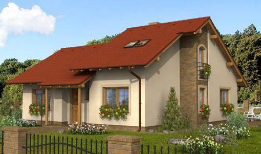 Casa frumoasa din lemn