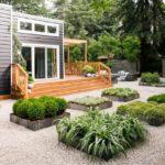 Casa mica din lemn loft style