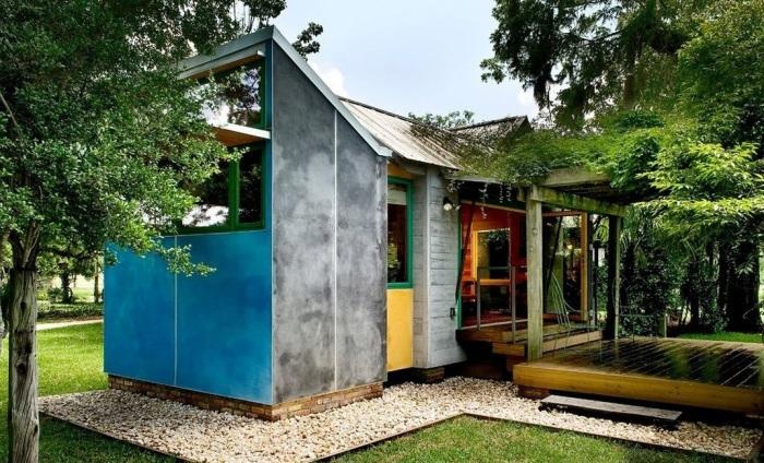 Casa mica din prefabricate