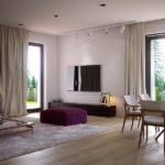 Living amenajat minimalist