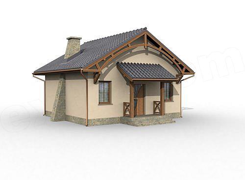 Model Casa Mica Cu 2 Camere Casapost Ro