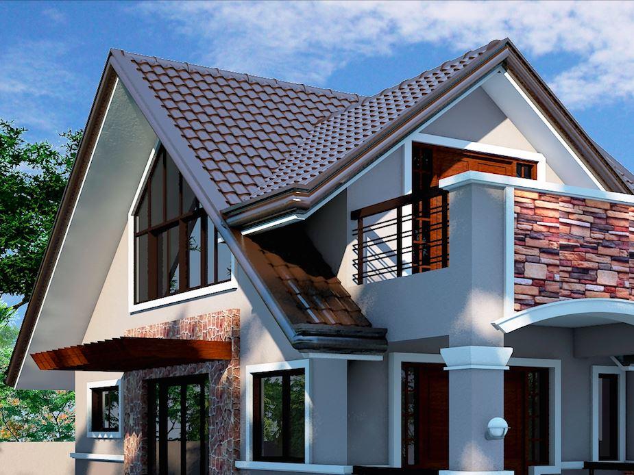 Model de acoperis combinat