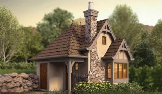 Plan casa mica doar cu parter