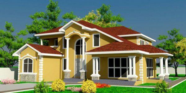 Proiect casa cu acoperis cu forme complexe
