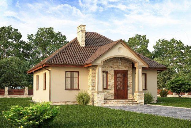 Proiect casa cu suprafata 74 mp