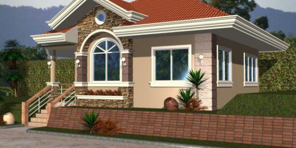 proiect de casa pentru teren in panta