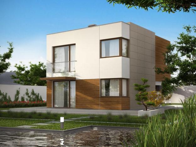 Proiect de casa ultra moderna cu etaj si trei dormitoare for Casa ultramoderna