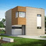 Casa moderna cu etaj si 3 dormitoare vedere spate