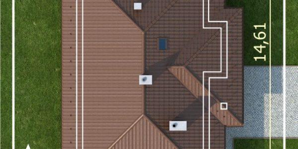 Dimensiuni parcela teren casa parter cu 4 dormitoare