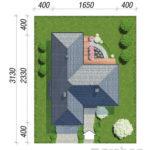 Dimensiuni teren casa parter cu 4 dormitoare