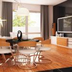 Dining casa cu parter si trei dormitoare