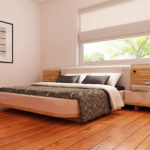 Dormitor casa cu parter si trei dormitoare