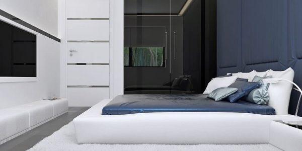 Dormitor mare casa parter cu 3 dormitoare