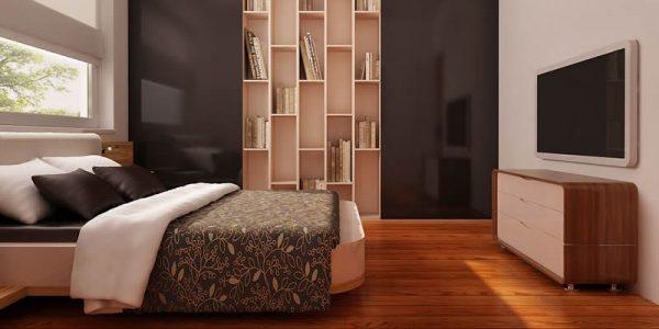 Dormitor matrimonial casa cu parter si trei dormitoare
