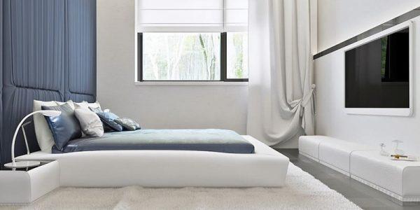 Dormitor matrimonial casa parter cu 3 dormitoare