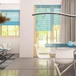 Living casa cu mansarda si arhitectura clasica