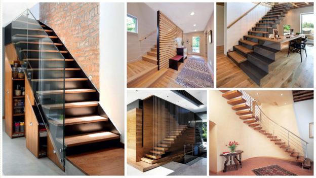 Modele scari interioare din lemn