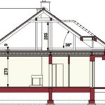 Plan vertical casa parter cu 4 dormitoare