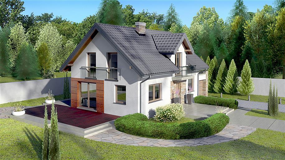 casa-cu-mansarda-4-camere-terasa-si-balcon-vedere-laterala