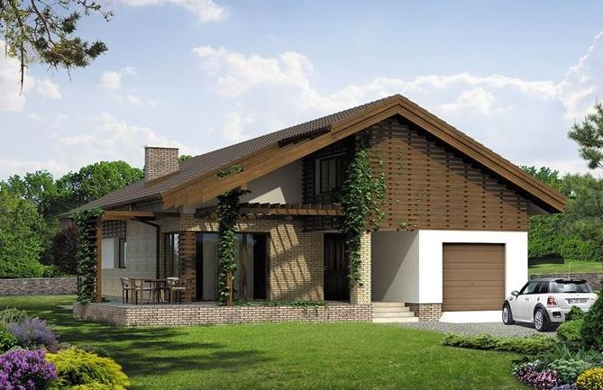 Casa mare cu garaj acoperis in 2 ape - Case americane con piscina ...