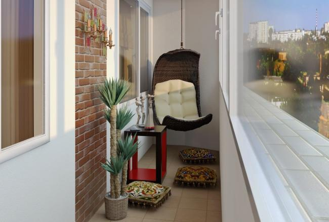 Balcon mic zona de relaxare